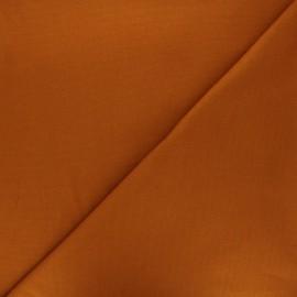 Plain Flannel Fabric - cinnamon Douceur x 10cm