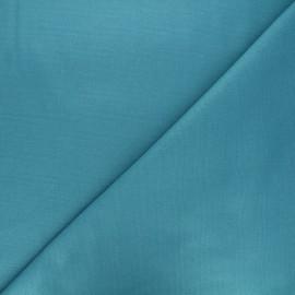 Plain Flannel Fabric - duck blue Douceur x 10cm