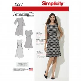 Patron Robe ajustée Femme - Simplicity n°1277
