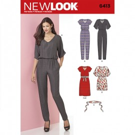 Combinaison Pantalon Femme - New Look 6413