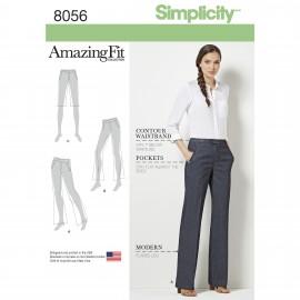 Patron Pantalon ajusté Femme - Simplicity n°8056