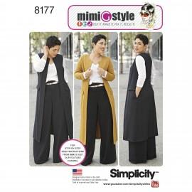 Patron Ensemble Femme - Simplicity n°8177