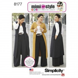 Set sewing Pattern for Woman - Simplicity n°8177