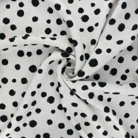 Twill viscose fabric - raw Bachata x 10 cm