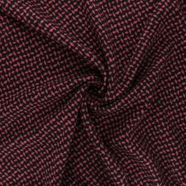 Tissu twill viscose Dagger - rose x 10 cm