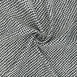 Twill viscose fabric - raw Dagger x 10 cm