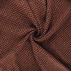 Twill viscose fabric - camel Dagger x 10 cm