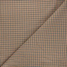 Bengaline fabric - orange Nestor x 10cm