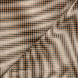 Tissu bengaline Neston - orange x 10cm