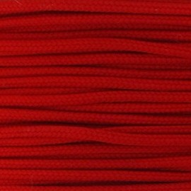 Polyester Cord 2 mm - red