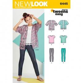 Patron Ensemble Enfant - New Look 6445
