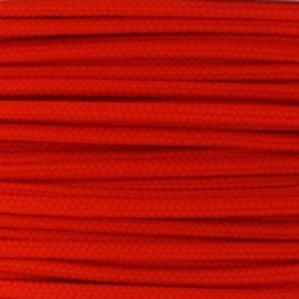 Cordon polyester 2mm orange