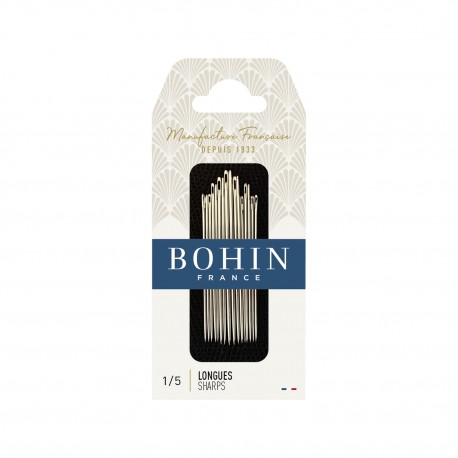 Sharps Needles Assorted Sizes 1/5 BOHIN