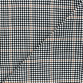 Tissu bengaline Arthur - noir x 10cm