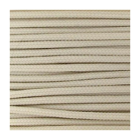 Cordon polyester 2mm écru