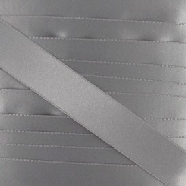 Satin ribbon - grey