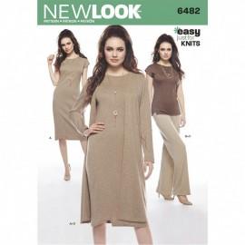 Patron Ensemble Femme - New Look 6482