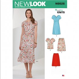 Sewing Pattern Set for Woman - New Look 6533