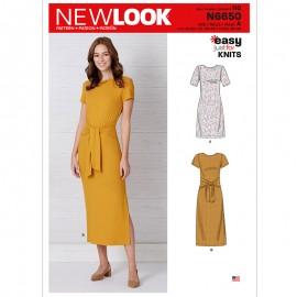 Patron Robe Droite Femme - New Look 6650