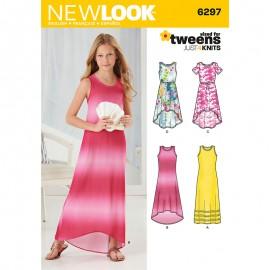 Patron Robe Fluide Enfant - New Look 6297