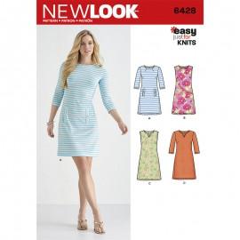 Patron Robe Droite Femme - New Look 5428