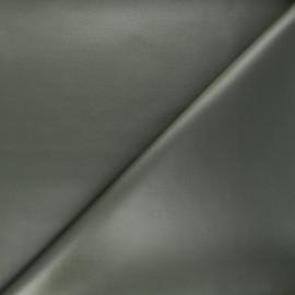 Tissu néoprène enduit - kaki x 10cm