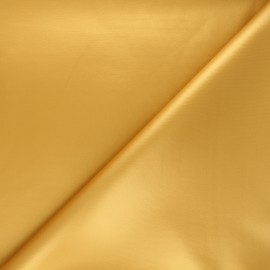 Coated neoprene fabric - ochre x 10cm