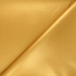 Tissu néoprène enduit - ocre x 10cm