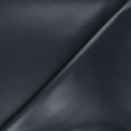Coated neoprene fabric - night blue x 10cm