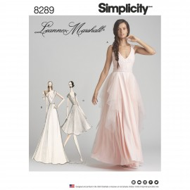 Ceremony dress sewing Pattern for Woman - Simplicity n°8289