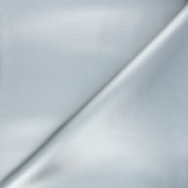 Coated neoprene fabric - silver x 10cm