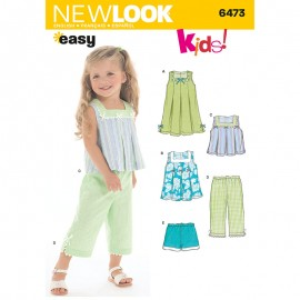 Set Sewing Pattern for Babies - New Look 6473