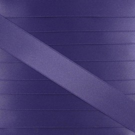 Satin ribbon - violet