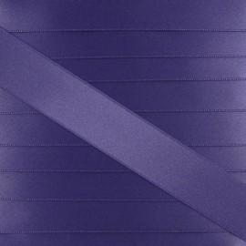 Satin ribbon - violet