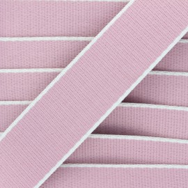 38 mm polycotton strap - pink Due x 1m