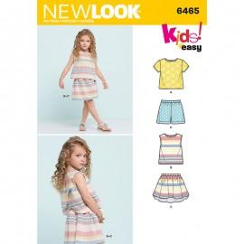 Patron Ensemble Enfant - New Look 6465