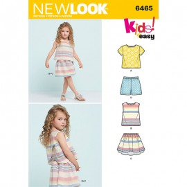 Set Sewing Pattern for Kids - New Look 6465