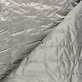 Quilted lining metallic fabric - golden Paddy x 10cm