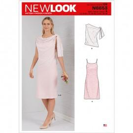 Patron Robe de Cérémonie Femme - New Look 6653