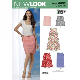 Skirt Suit Sewing Pattern for Woman - New Look 6053