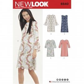 Patron Robe Droite - New Look 6540