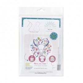 Embroidery kit - Alors on crâne !