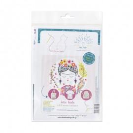Embroidery kit - Jolie Frida