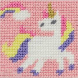Children canvas kit - La fée licorne