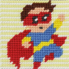 Kit canevas enfant - Super Roro