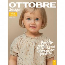 Ottobre Design Kids Sewing Pattern - 3/2021
