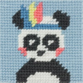 Kit canevas enfant - Pandi panda