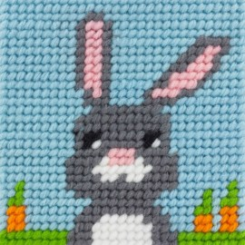 Kit canevas enfant - Mon lapin Cookie