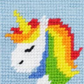 Kit canevas enfant - Rainbow