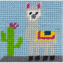 Kit canevas enfant - Joshua le lama